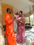 Navratri Jadan ashram tilak