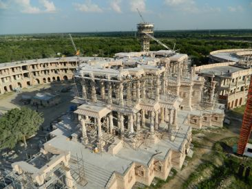 OM Ashram  temple