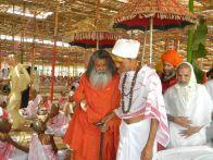 Vishwaguru Maheshwarananda and mahatma Tulsa Ramji Maharaj