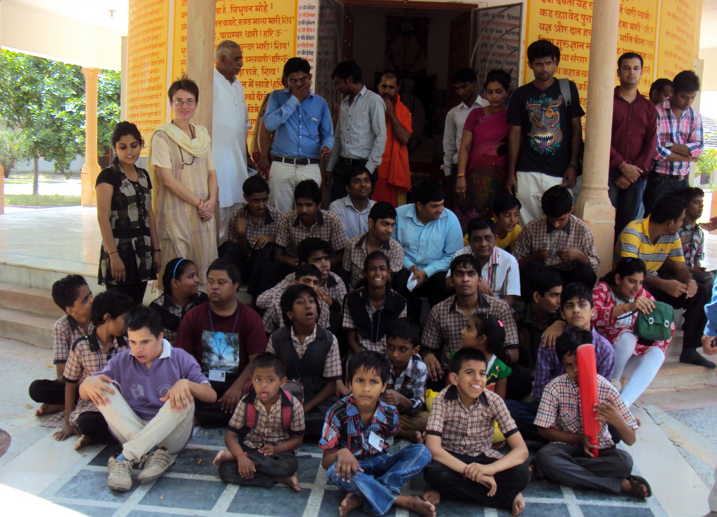 Visit of Mentally Challenged Children