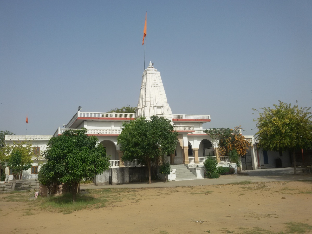 Sri Devpuriji Ashram in village Kailash got a new look