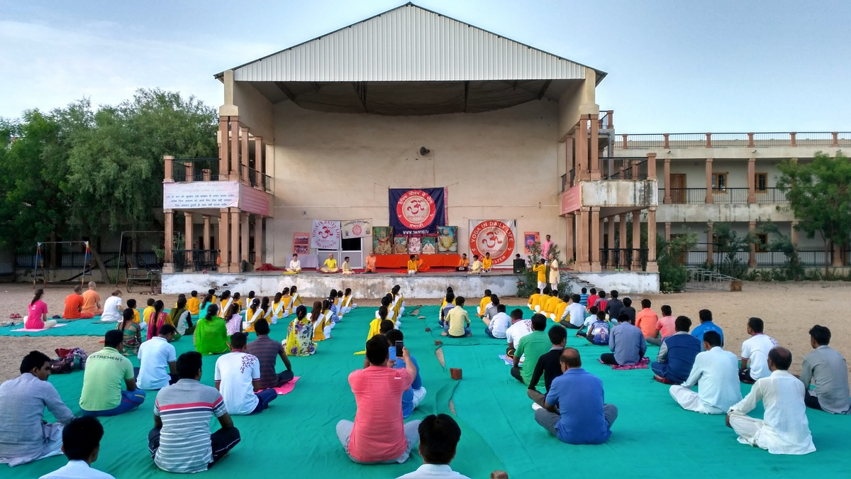 International Yoga Day Jadan