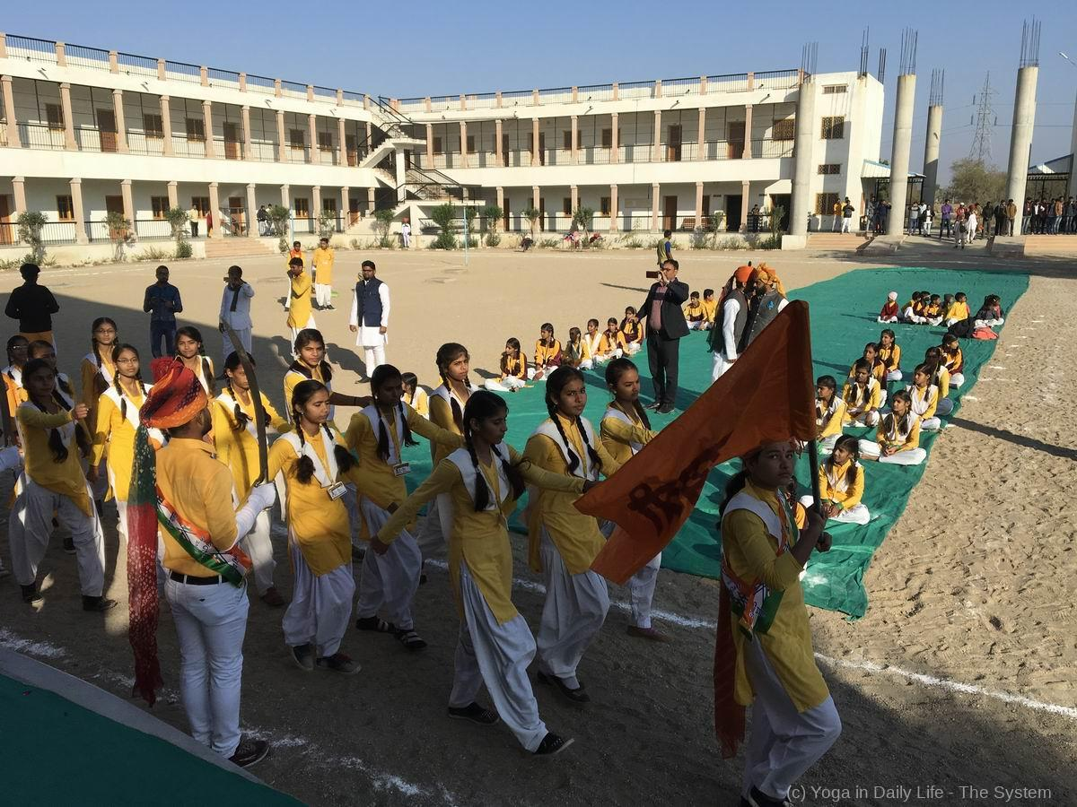 2019 70th Republic Day in OM Ashram 17