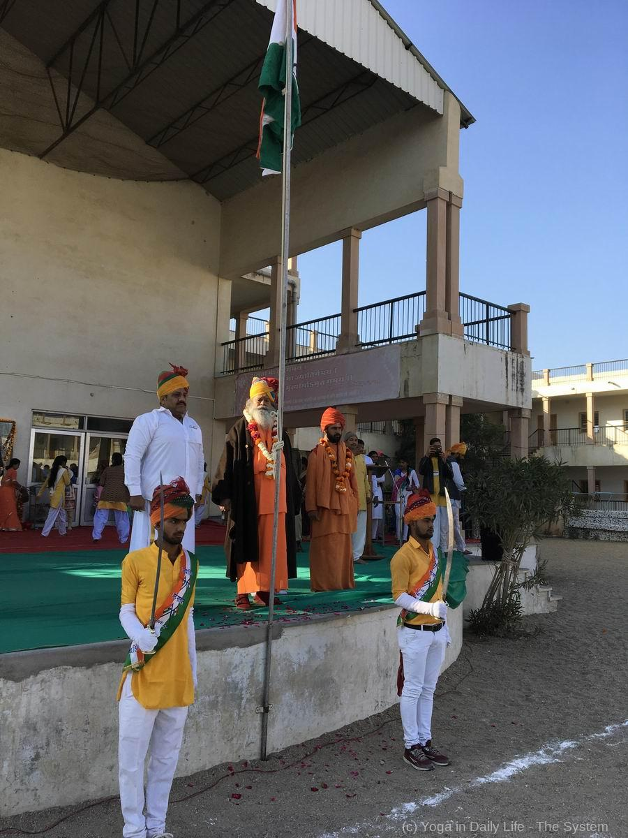 2019 70th Republic Day in OM Ashram 4