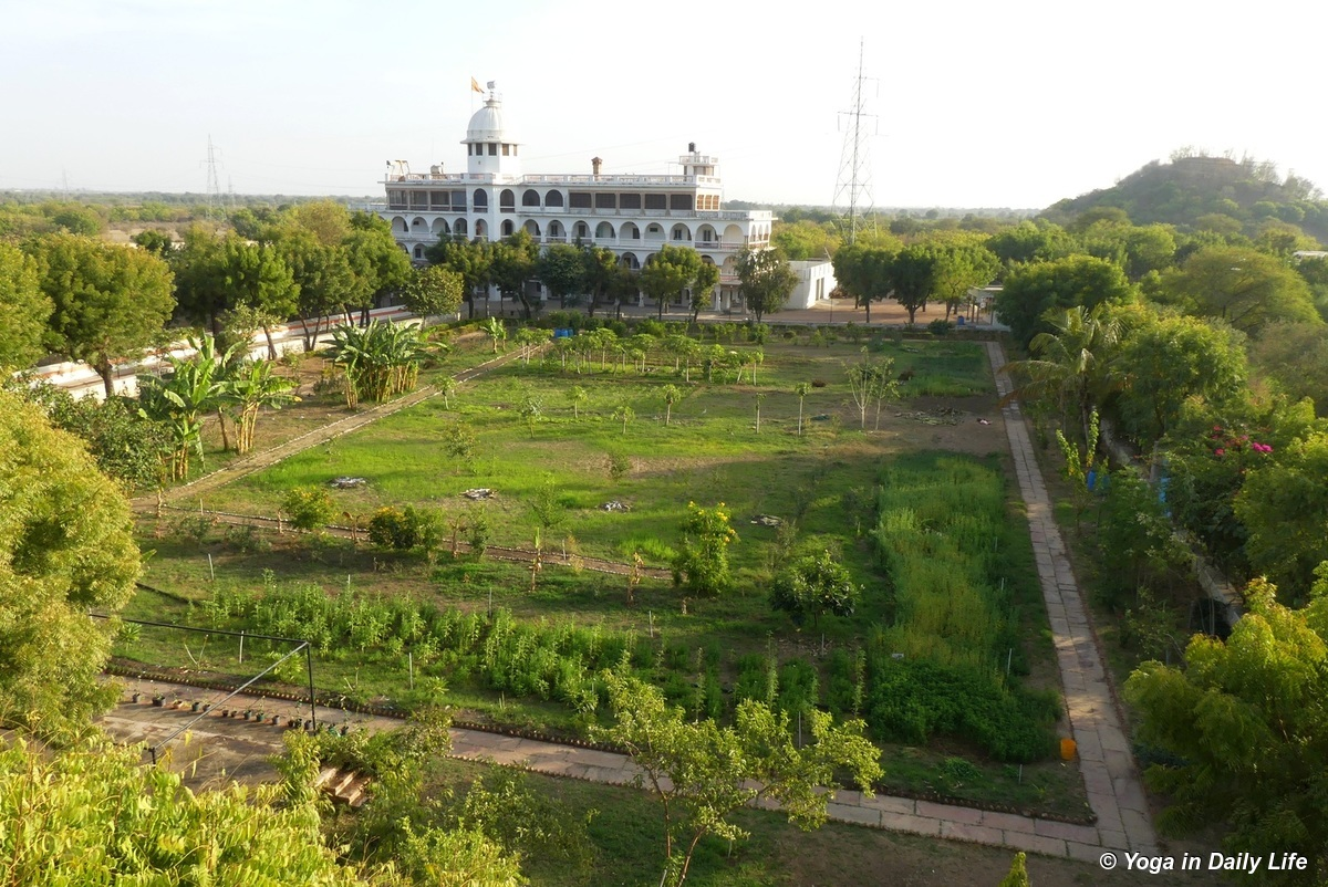 Shiv Bagh taken from Gurujis Building