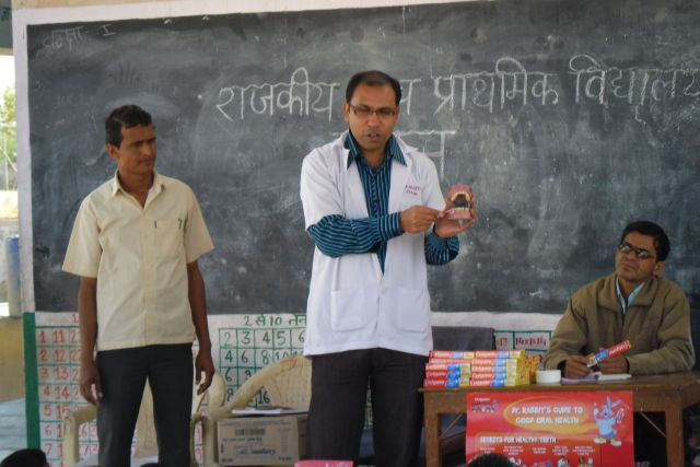Dental Health camp on 13.March 2012