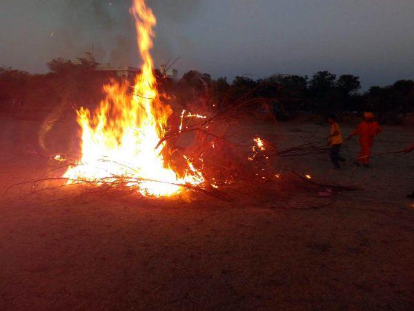 Burning Holika