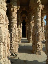 OM Ashram  Temple - Pillars