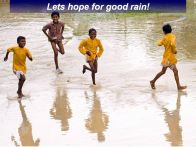 hope of rain