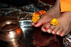 Gurudev Lotus Feet